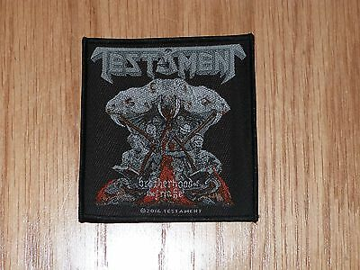 Testament - Brotherhood Of The Snake (New) Sew On W-Patch Official Band Merch
