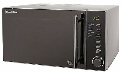 NEW Russell Hobbs RHM2017 20L 800W Compact Digital Microwave Oven - Silver