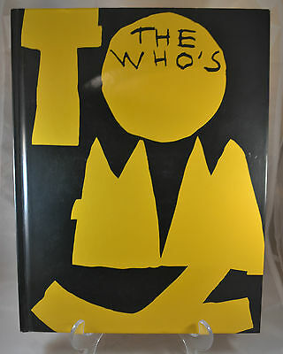 1993 Collector's Edition The Who Tommy The Musical Hardcover Book w/ CD