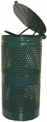 DOGIPOT Steel Receptacle 15 Gallon Trash Can