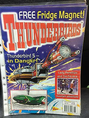 Thunderbirds Redan Comic Issues 18 with free TB2 fridge magnet Gerry Anderson