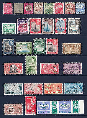 Bermuda Collection QV to QEll. Fine Used Mounted & Un Mounted Mint.SG 2013 £30+