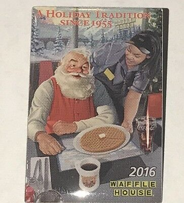 WAFFLE HOUSE 2016 Lapel Pin 'A HOLIDAY TRADITION SINCE 1955' New in Package