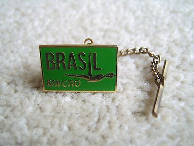 Brazil Synchronised Swimming metal badge / pin, possibly Olympic Games related