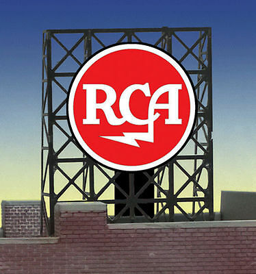 RCA Animated Billboard Sign for N Z Scale Miller 339000