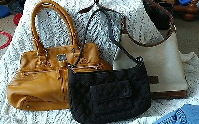 Purse handbag  Purse 3 bag Lot vera clark other