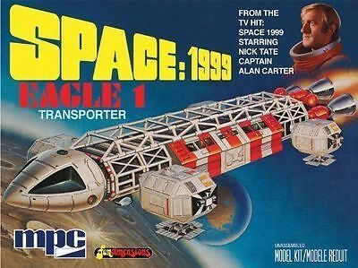 Space 1999 Eagle 1 Transporter 1:72 Scale Model Kit Mpc