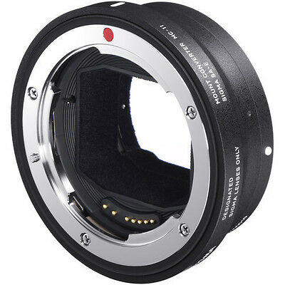 Sigma MC-11 Canon EF to Sony FE Lens Mount Adapter