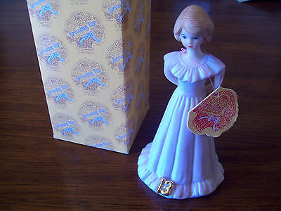Enesco Growing Up Girls 13th Birthday Figurine-NIB