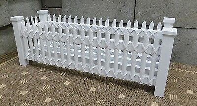 Brand New Wooden Picket Fence Planters
