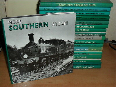 """""""More Southern Steam in the West Country"""" 1st HB-£2.99 STARTER-£1.50 UK POSTAGE"""