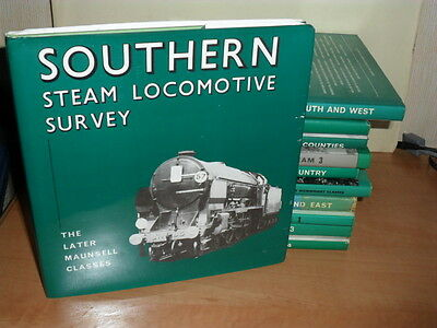 """""""Southern Steam Loco Survey Later Maunsell"""" 1st HB-£2.99 START-£1.50 UK POSTAGE"""