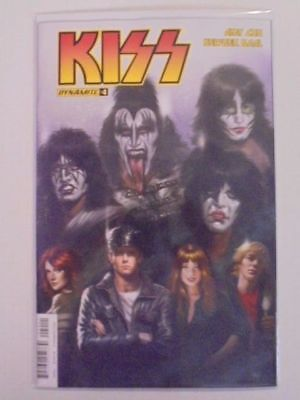 Kiss #4 Parillo A Cover Dynamite NM Comics Book