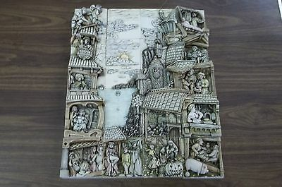 Harmony Kingdom Wimberley Tales 20 Pieces Tile Set W/ Boxes & Papers