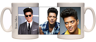Bruno Mars Mug 24k magic authentic photo pictures coffee tea mug