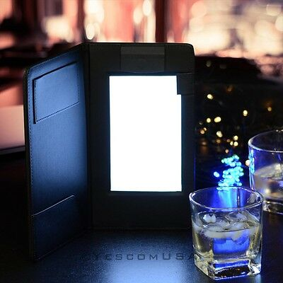 LED Check Presenter Magnetic Clamp for Receipts Card Pocket Nightclub Back Lit