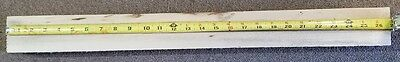 """Basswood 26 3/4"""" x 2 1/2"""" x 1 1/2"""" Carving Block Thick Square Turning rough Dry"""