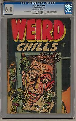 Weird Chills #2 CGC 6.0 (C-OW) Hitler Commits Suicide Story