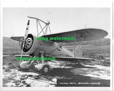 "8""x10"" semigloss US Navy Curtiss F9C Sparrowhawk biplane airplane photo vintage"