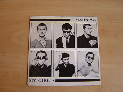 "Madness: My Girl  7"": 1979 UK Release: Picture Sleeve. Stiff - BUY 62"