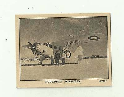 US/Canada card Brownie Chocolat Prodcts Noorduyn Norseman