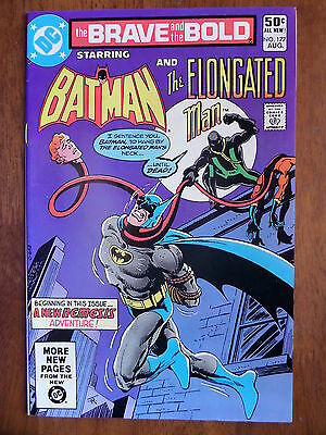 THE BRAVE AND THE BOLD #177 Batman And The Elongated Man VF 1981 Bronze Age L@@K