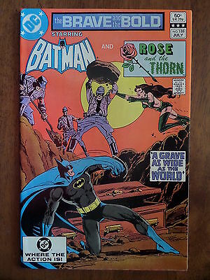 THE BRAVE AND THE BOLD #188 Batman And Rose And The Thorn VF/NM 1982 Bronze Age!