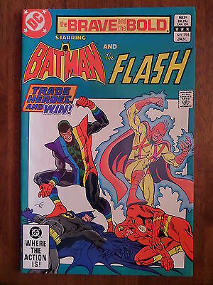 THE BRAVE AND THE BOLD #194 Batman And The Flash VF/NM 1983 Bronze Age Classic!