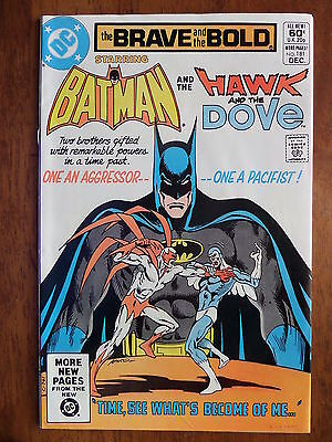 THE BRAVE AND THE BOLD #181 VF/NM 1980 Batman And Hawk And The Dove Bronze Age!