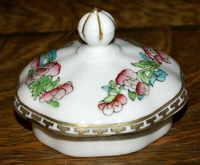 Coalport Indian Tree Bone China * ONE Coffee Pot Lid * LID ONLY
