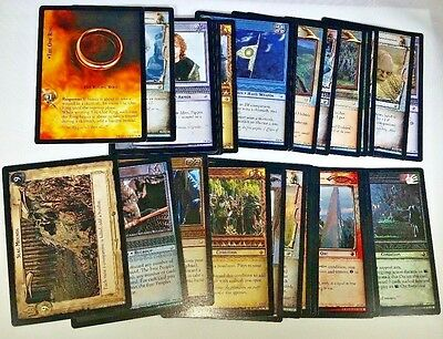Lot of 33 Cards from Lord of the Rings Trading Card Game