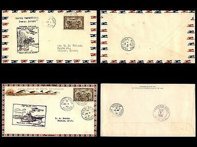 Canada 1920s to 1930s Stamp Collection of First Flight Covers