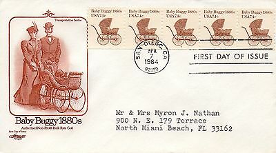 US FDC #1902 Babby Buggy PNC Plate 2, Artmaster (3026)