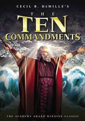 The Ten Commandments [New DVD]