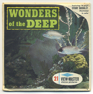 Wonders of the Deep off Bahama Islands View-Master Set B-612 with Reels 990-ABC