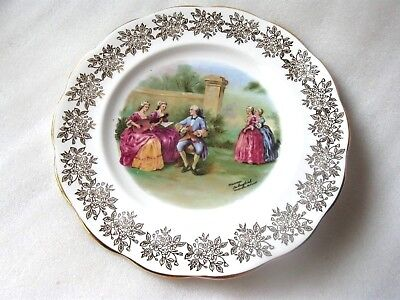 Royal Albert  Fragonard Decorative Large  Plate Vgc