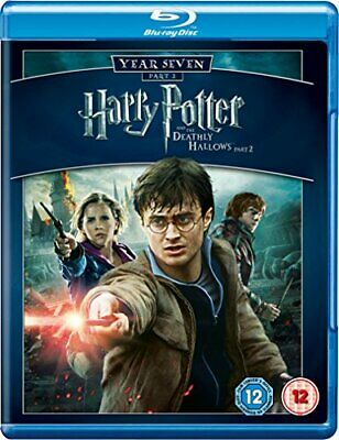 Harry Potter And The Deathly Hallows, Part 2[Blu-ray] [2011] [Reg... - DVD  YMVG
