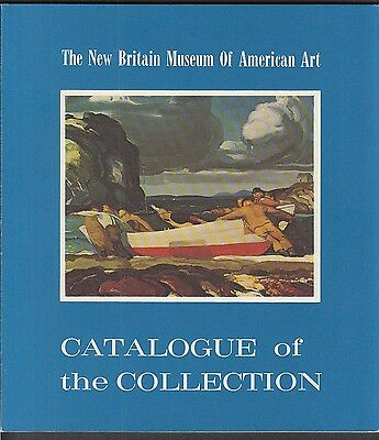 New Britain Museum of American Art Connecticut 1975 collection catalog
