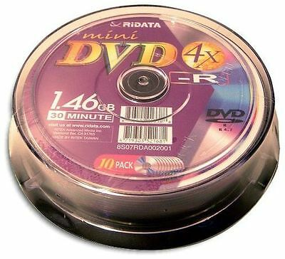 300-Pak Ritek/Ridata Mini DVD-R fits HITACHI/PANASONIC/SONY