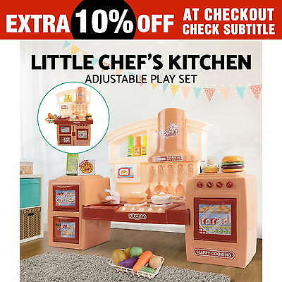 27pcs Kids Kitchen Pretend Role Play Set Changeable Children Cooking Food Toy