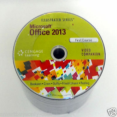 Microsoft Office 2013 Illustrated Course DVD Video training by Cengage Learning,