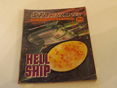Starblazer Picture Library,no 13,1979 Issue,good For Age,very Rare Sci-Fi Comic