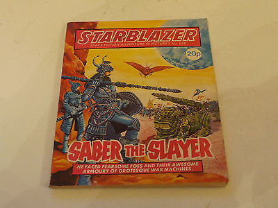 Starblazer Picture Library,no 125,1984 Issue,good For Age,very Rare Sci-Fi Comic