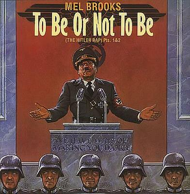"""To Be Or Not To Be Mel Brooks UK 12"""" vinyl single record (Maxi) 12IS158 ISLAND"""