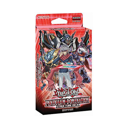 Yu-Gi-Oh Pendulum Domination Structure Deck - SDPD (Sealed Deck)