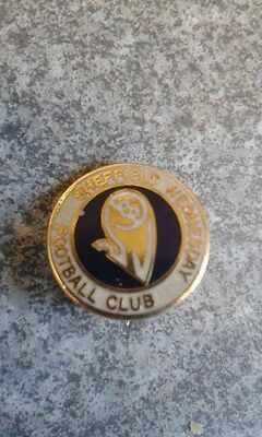 SHEFFIELD WEDNESDAY Owl Vintage club crest type Badge/Brooch/Pin