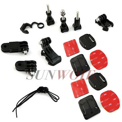 Grab Bag of Mounts Kit For GoPro Hero 1 2 3 3+ 4 5 Go Pro  Camera Accessories