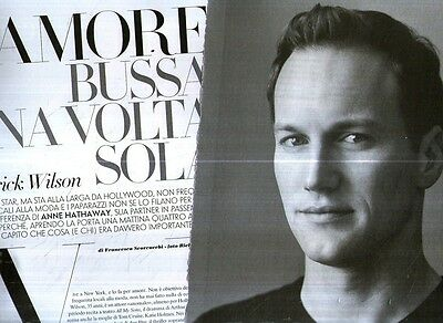 Ga48 Clipping Clipping of 2008 Patrick Wilson L'amore knocks a volta only