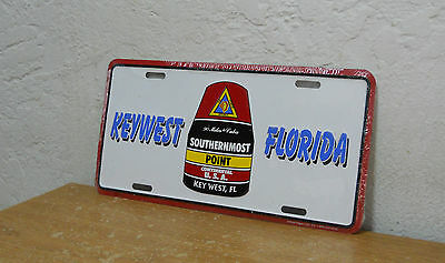 """Key West, Florida License Plate  """" Southernmost Point """"     New"""