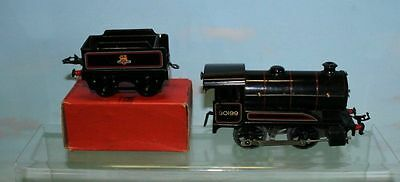 Hornby  O Gauge Type 50 Clockwork Locomotive And Boxed Tender